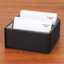 Бизнес держатель для карт Офисная коробка хранения визиток на