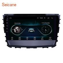 Seicane 10,1 pulgadas Android 8,1 coche GPS navegación Radio reproductor Multimedia para 2019 Ssang Yong Rexton soporte Carplay espejo enlace