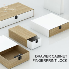 T4 Smart Fingerprint Lock Drawer Lock Furniture File Cabinet Shoe Cabinet Letter Box Fingerprint Drawer Lock(China)
