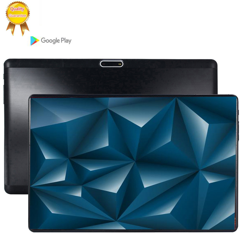 S119 2.5D IPS Tablet PC 3G Android 9.0 Octa Core Google Play The Tablets 6GB RAM 64GB 128GB ROM WiFi GPS 10' Tablet Steel Screen