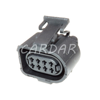1 Set 1.5mm 8 Pin 3A0973714 Waterproof Car Auto Throttle Plug Electrical Socket 3A0 973 714 For VW Audi image