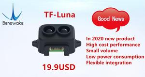 Image 3 - Benewake TF Luna LiDAR Range FinderโมดูลSingle Point MicroโมดูลสำหรับArduino Pixhawk 5V IIC UART