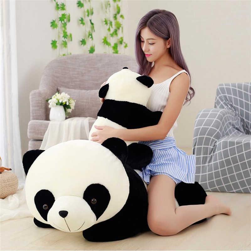 Cute Big Giant Panda Bear Plush Stuffed Toy Pillow Cartoon Kawaii Dolls Gifts