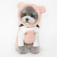 Cap Beanie Pet-Costume-Accessories Dog Small Large Warm Cat Cute for To Hat Plush-Hat