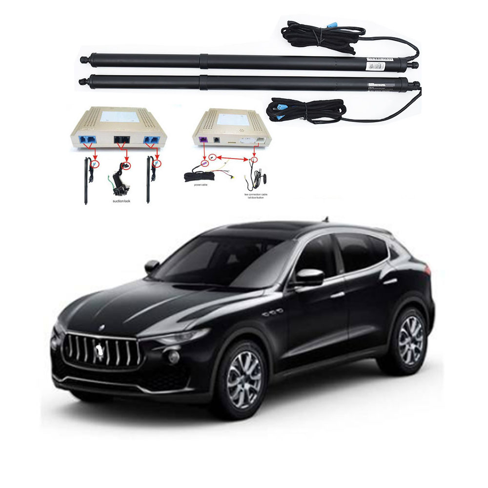 New Electric Tailgate Refitted For Maserati LEVANTE 2017 -2020 Tail Box Intelligent Electric Tail Door Power Tailgate Lift Lock
