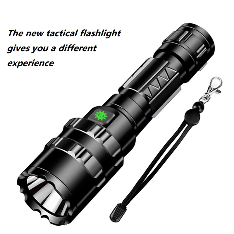 2019 New LED tactical flashlight XHP50.2 most powerful led light usb torch 5 modes can be fixed into one mode hunting lantern