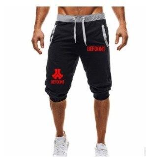 Men's Regular Short Jean Summer Slim Skinny Straight Casual Jeans Men's Defqon.1Shorts 1