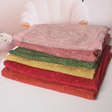 Extra large cotton scarfs for ladies muslim hijabs soft lace
