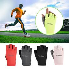 Cycling-Gloves Sports Fitness for Skate Luvas Driving Sunscreen Mesh-Fabric Antiskid