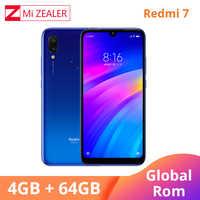Globale ROM Xiaomi Redmi 7 4GB RAM 64GB ROM Mobilen Smartphone Snapdragon 632 Octa Core 12MP Kamera 4000mAh Batterie handy