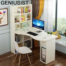 Ufficio Scrivania Pliante mała Mesa Portatil Escrivaninha podstawka do laptopa stolik nocny stolik pod komputer z półką tanie tanio GENIUSIST NONE HOME CHINA Laptop biurko
