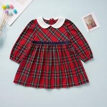 Micol emilly/милое платье для маленьких девочек с воротником