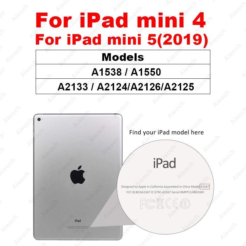 Защитное стекло с закругленными краями для iPad Pro 11 10,5 9,7 Защитная пленка для экрана для iPad 10,2 Mini 5 4 Air 3 2 1 закаленная пленка - Цвет: For iPad mini 4 5