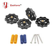 3D Printer Parts Heated Bed Spring Leveling Kit Adjustment Nut+Springs+ Screw Heatbed Kit For CR-10 Ender 3 MK3 hotbed