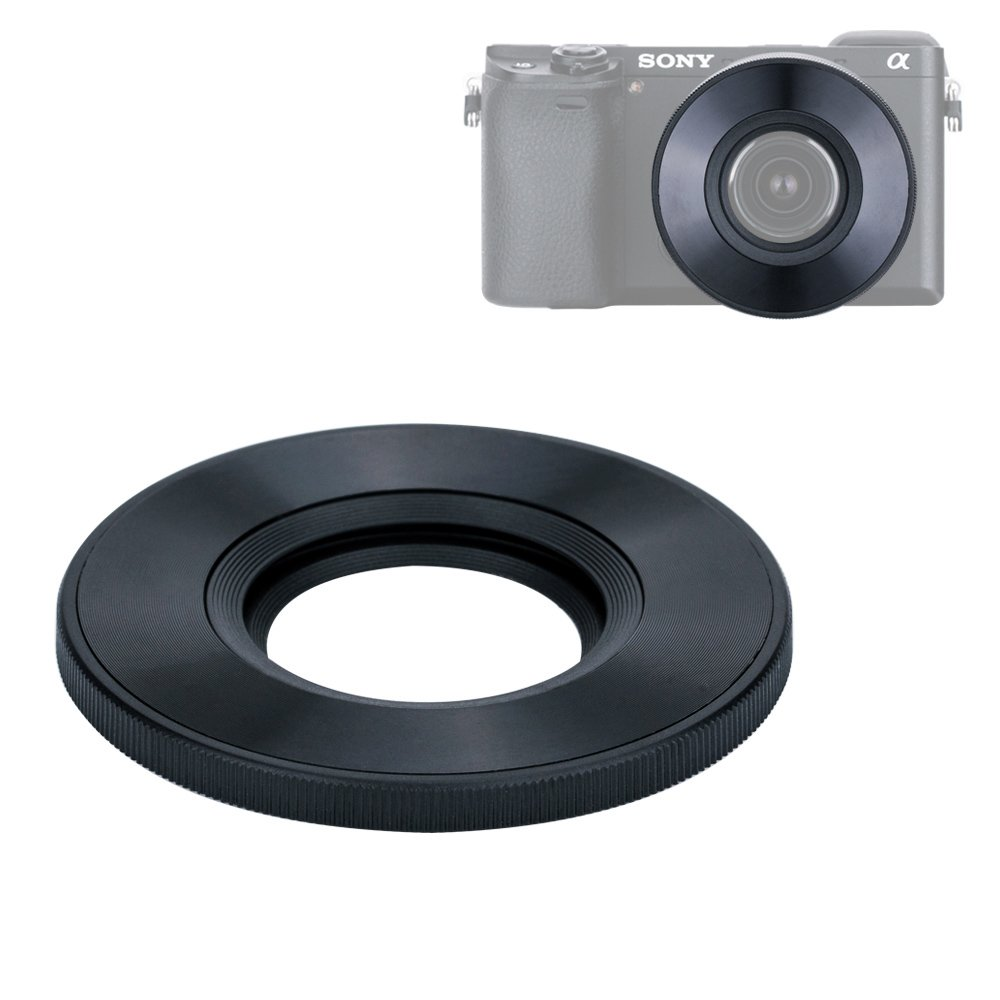 MicroFiber Cleaning Cloth 55mm Universal Snap-On Lens Cap For Sony 55-200mm f//4-5.6 DT AF Zoom Lens Cap Keeper