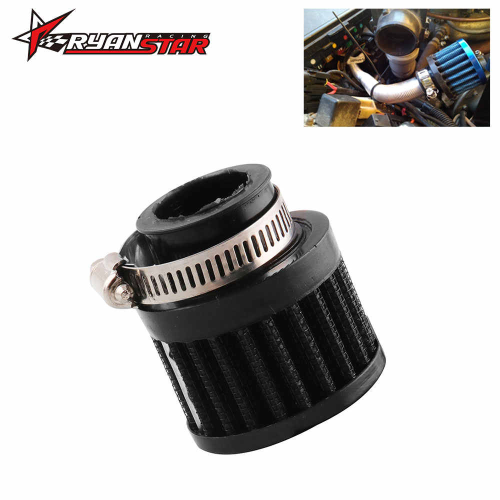 25 Mm Luchtfilter High Flow Cold Air Intake Carter Vent Cover Mini Adempauze Filters Voor De Meeste Auto 'S Vrachtwagens Motorfiets