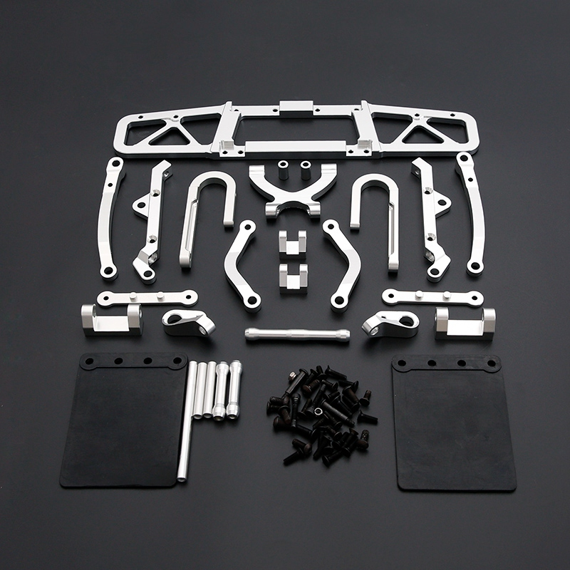 for 1/5 HPI BAJA RACING/KM HPI 5B 5T 5SC LOSI TDBX FS Racing 1/5 <font><b>Scale</b></font> <font><b>Rc</b></font> 5T 5SC 5T 5SC CNC Rear Bumper Kits image