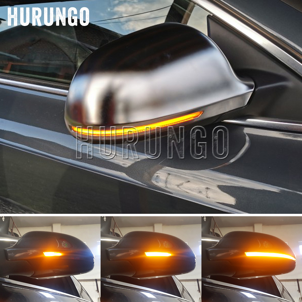 Dynamic Blinker Mirror Light for <font><b>Audi</b></font> A3 8P A4 A5 B8 Q3 A6 C6 4F S6 <font><b>LED</b></font> Turn Signal Side Indicator SQ3 <font><b>A8</b></font> <font><b>D3</b></font> 8K image