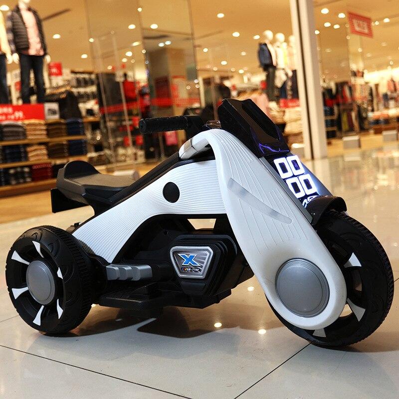 Big 88cm garçons filles moto électrique pour 3-6y enfants voitures jouets avec lumière LED brillent dans le noir batterie voiture jouets pour enfants