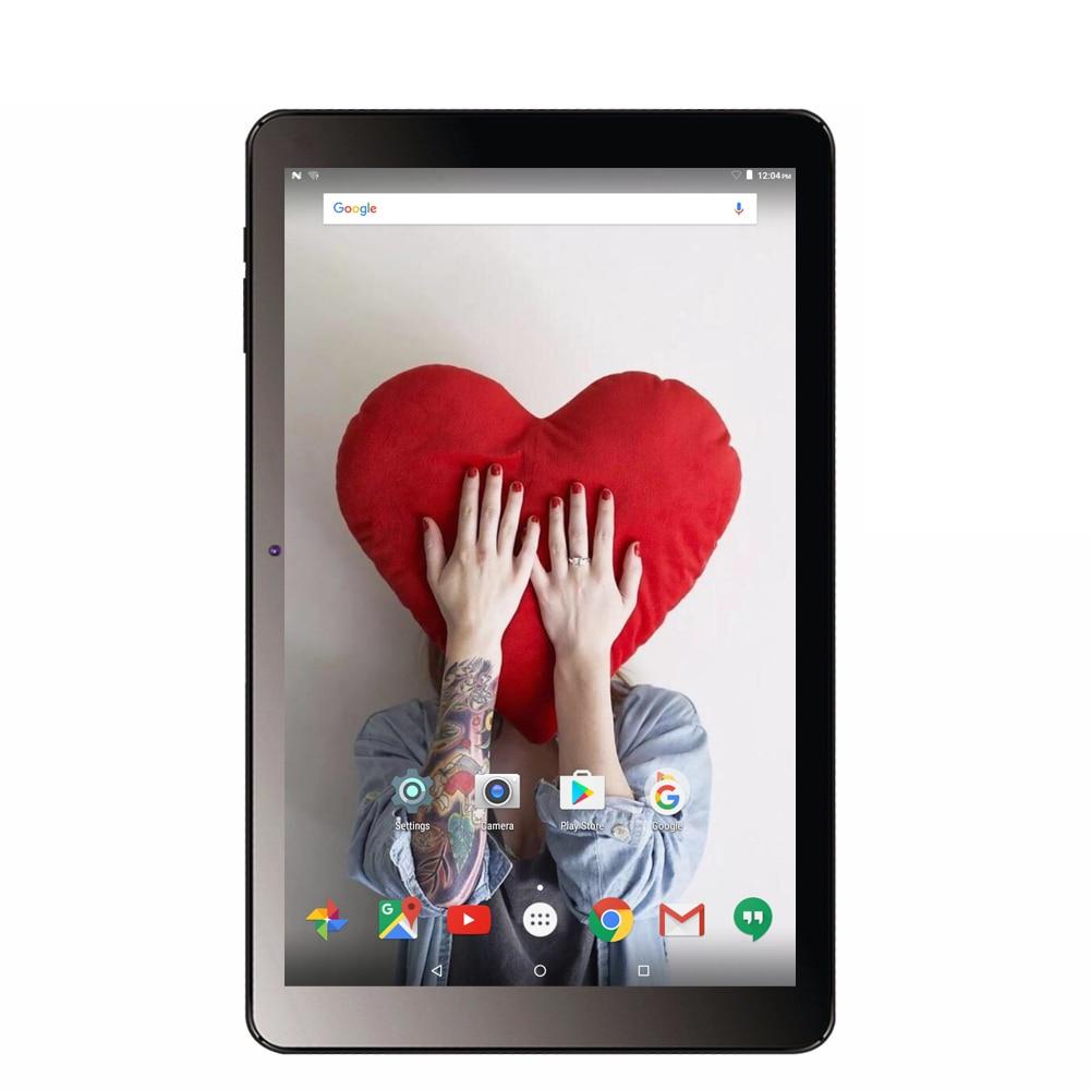 BDF Novo Android 7.0 tablets pc 10.1 GB + 32 Polegada 1GB LCD IPS Quad Core Bateria 6000Mah wifi Bluetooth Design Agradável Comprimidos 10 9