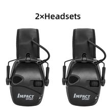 Electronic Shooting Earmuffs Tactic Headset Noise Reduction Foldable Hearing Protector Hearing Protection headphone 3m h6f earmuffs folding earmuffs hearing conservation anti noise hearing protector for drivers workers ku014