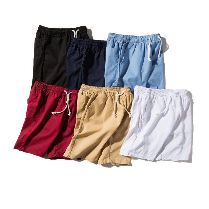 2019 Summer Style Shorts Students Versatile Shorts Fashion Casual Pants Beach Men's One's