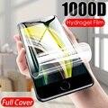 Гидрогелевая пленка для iPhone XR XS Max, полное покрытие экрана для iPhone X 10 8 7 6s 6 Plus, пленка с полным покрытием для iPhone 5, фотообои 4 дюйма