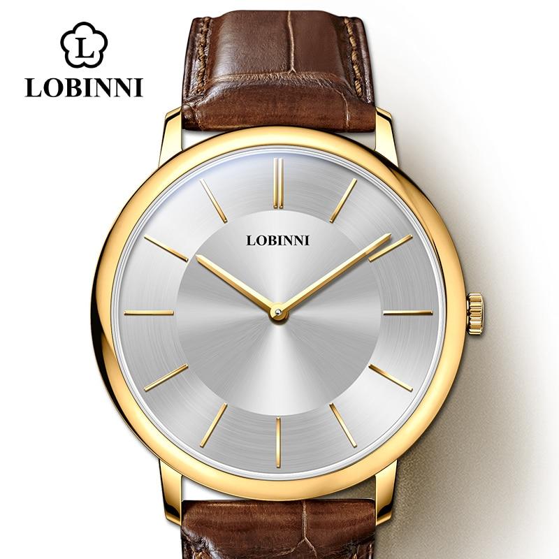 Luxury Brand Clock LOBINNI Watch Japan Miyota Quartz Movement Lovers Watches Couple Watches Sapphire Waterproof 30M Relogio