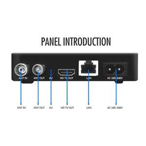 Image 3 - Receptor de tv hd h.265 dvb t 1080/4 suporta áudio do youtube inteiramente p digital terrestre decodificador de receptor MPEG 2 caixa de tv
