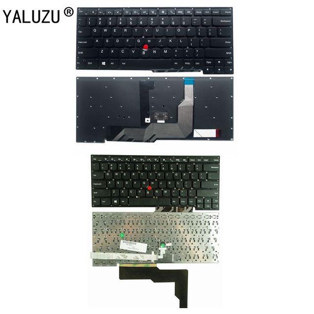 YALUZU nowy dla lenovo IBM Thinkpad S3 S3-S431 S3-S440 S431 S440 klawiatury laptopa angielski usa podświetlenie
