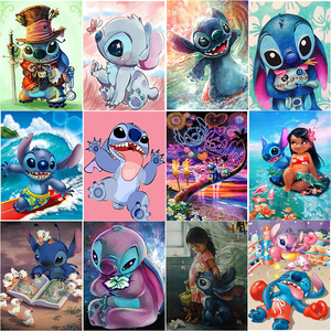 5D diamond painting kit set Full square Cuadros broderie Cross stitch Diamand art diamant Cartoons animal Mosaic stilson tools