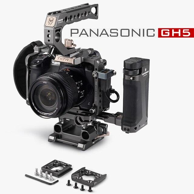 Tilta DSLR تلاعب هيكل قفصي الشكل للكاميرا لباناسونيك Lumix GH5 GH5S gh4 تلاعب عدة TA T37 A G مقبض علوي الجانب التركيز