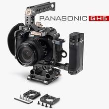Tilta DSLR Rig kamera kafesi Panasonic Lumix GH5 GH5S gh4 teçhizat kiti TA T37 A G üst kolu yan odak kolu