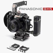 Tilta Rig DSLR מצלמה כלוב עבור Panasonic Lumix GH5 GH5S gh4 rig ערכת TA T37 A G למעלה ידית צד פוקוס ידית