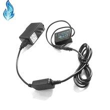 Batería simulada BLG10 BLE9 de DMW DCC11, cable cargador móvil, adaptador USB para Lumix GF5 GF6 GX80 GX85 GX86CGK GX7 Mark II ZS60 TZ85