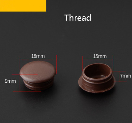 A29 Furniture Part  Accessories  Plastic Hole Plug Cover Hinge Cover Screw Hole Cover Circular Plug Decorative Cover Plug