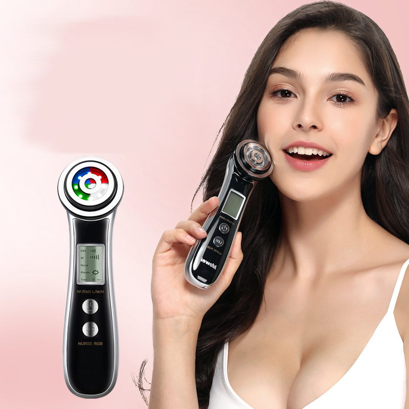 Radio Frequency Beauty Machine Radiofrecuencia Facial Electric Free Needle Microcurrent Massager For Face Anti Wrinkle Skin Care