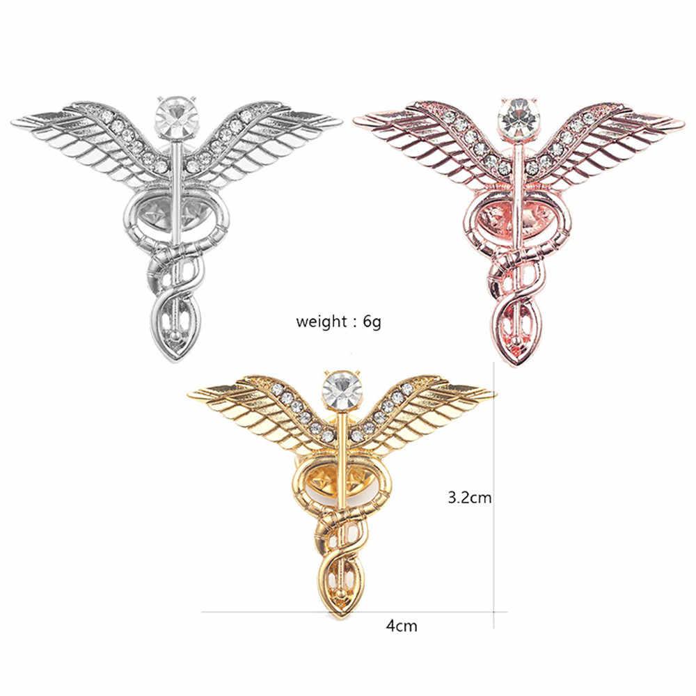 Enamel Organ Medis Pin Bros Jantung Rahim Kapiler Darah Ginekologi Obat Perhiasan untuk Dokter Perawat Kerah Pin