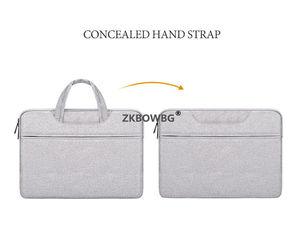 Image 4 - Portable Handbag Briefcase Laptop Bag Sleeve For Lenovo Yoga 520 530 14 Inch Case For 520 14 530 14 15 13 Bags Notebook Pouch