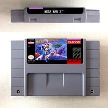 Mega Man X karta gry akcji wersja amerykańska język angielski