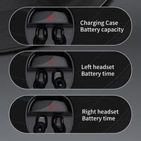 Baseus WM01 Plus Wireless Headphones TWS Bluetooth 5.0 Earphones Stereo Sports Waterproof Headsets with LED Digital Display