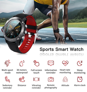 Image 2 - Deelife Smartwatch Men Smart Watch 2020 for Man Swimming 30 Meters Waterproof Compass Connected Android IOS Sport Watches
