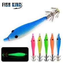 Fish king 5 видов цветов шт/лот крючок для кальмара Мягкая приманка