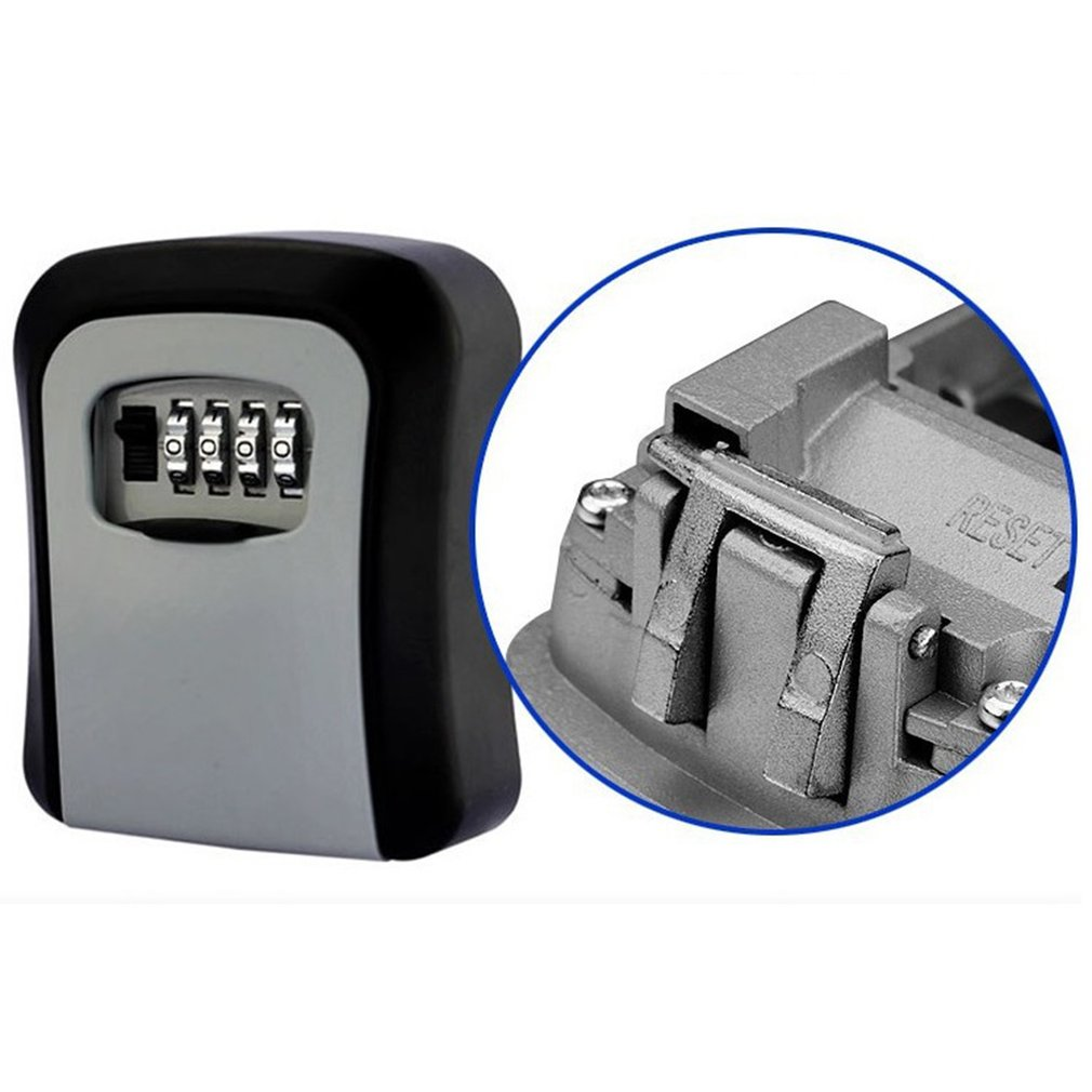 Key Repair Password Box Wall-Mounted Anti-Smashing Password Lock Key Box Anti-Theft Door Cat Eye Key Box