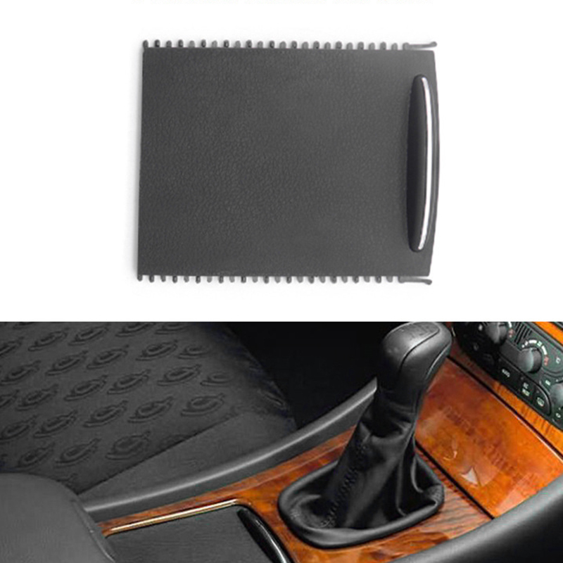 140x115x25MM Car Inter Cup Holder Roller Blind Console Cover Slide Tray Suitable For <font><b>Mercedes</b></font> <font><b>W203</b></font> Interior Accessories replace image