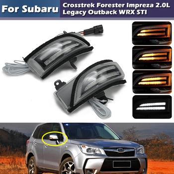 Dynamic Flash LED Side Mirror DRL Turn Signal Light For Subaru WRX STI Outback Legacy Impreza turbo for subaru impreza wrx sti ej20 ej25 2 0l max power 450hp td05 20g td05 20g 8 td05 20g turbocharger gaskets pipe fitting