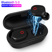 Original Sports A7 Mini Wireless TWS Earphones Bluetooth V5.0 Earbud with Mic Handsfree In-Ear Heads
