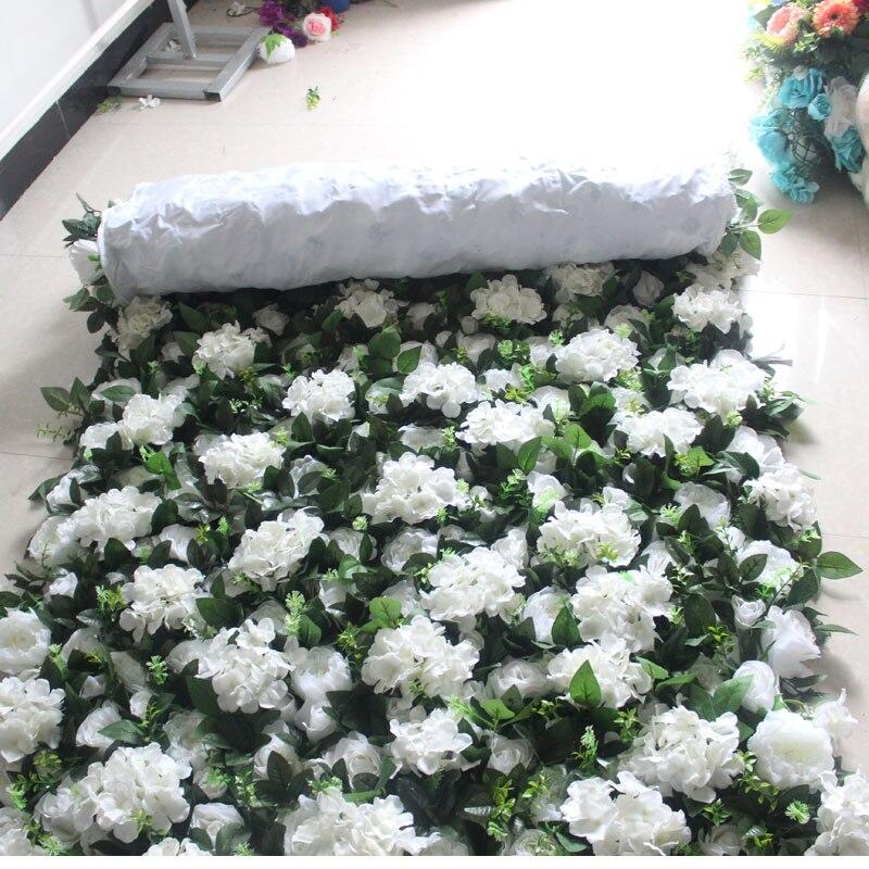 SPR 4 фута * 8 футов/шт. Свернутая ткань основа цветок стена искусственная Роза случай фон цветочный орнамент украшения Бесплатная доставка - 3