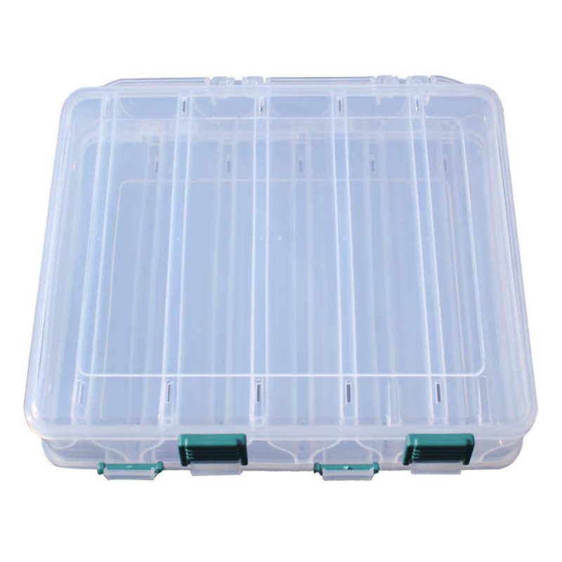 Transparent Fishing Box Double Sided Plastic Baits Lure Case Fly Fishing Tackle Storage Container Fishing Supplies Accessories|Fishing Tackle Boxes| |  - title=