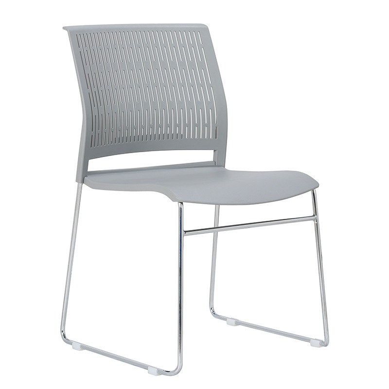 Chair Leisure Time Negotiate Chair The Reception Chair Bow Meeting Chair Plastic Cement Plastic Steel Chair Stack Train Chair